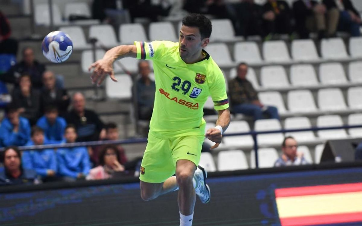 SD Teucro 21–35 Barça Lassa: The champion doesn't tire of winning