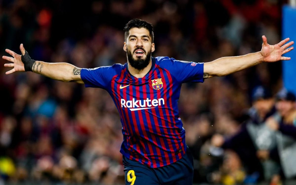 Luis Suárez ends the season with 25 goals