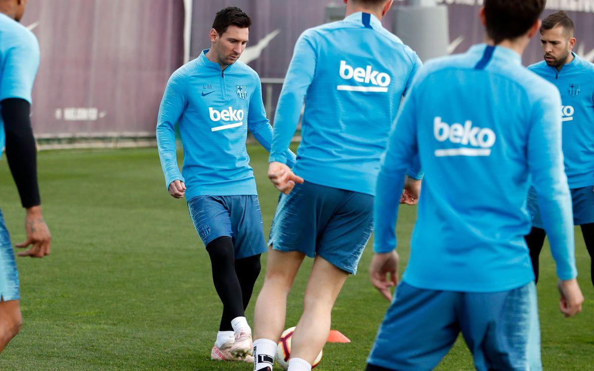 Le groupe du Barça convoqué pour la réception de Getafe
