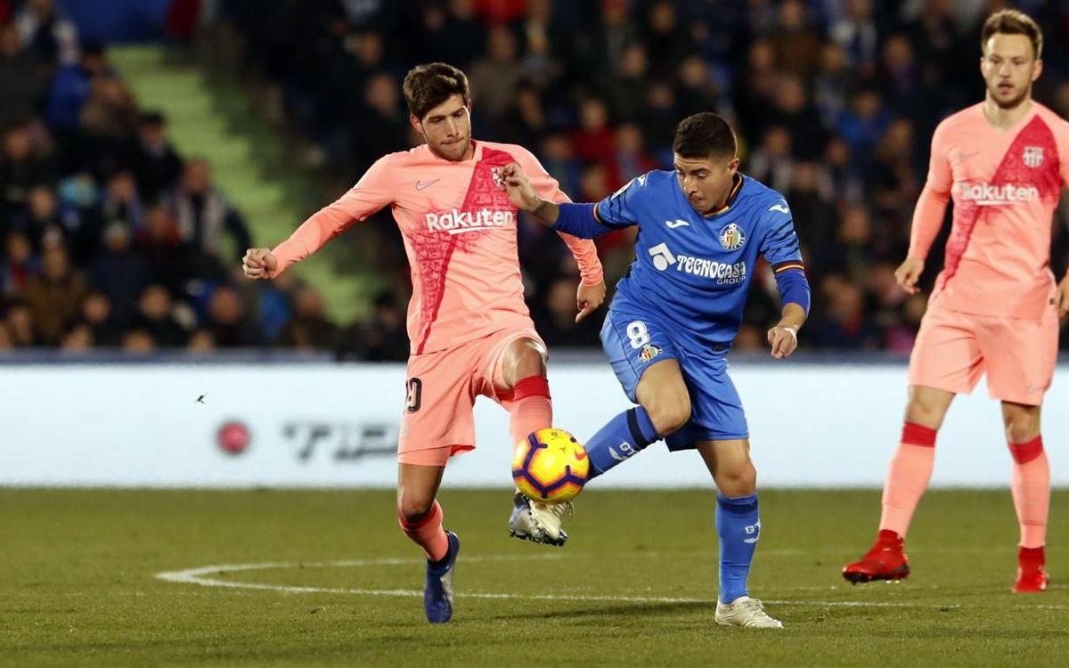 Barça – Getafe: Últim partit de la temporada al Camp Nou