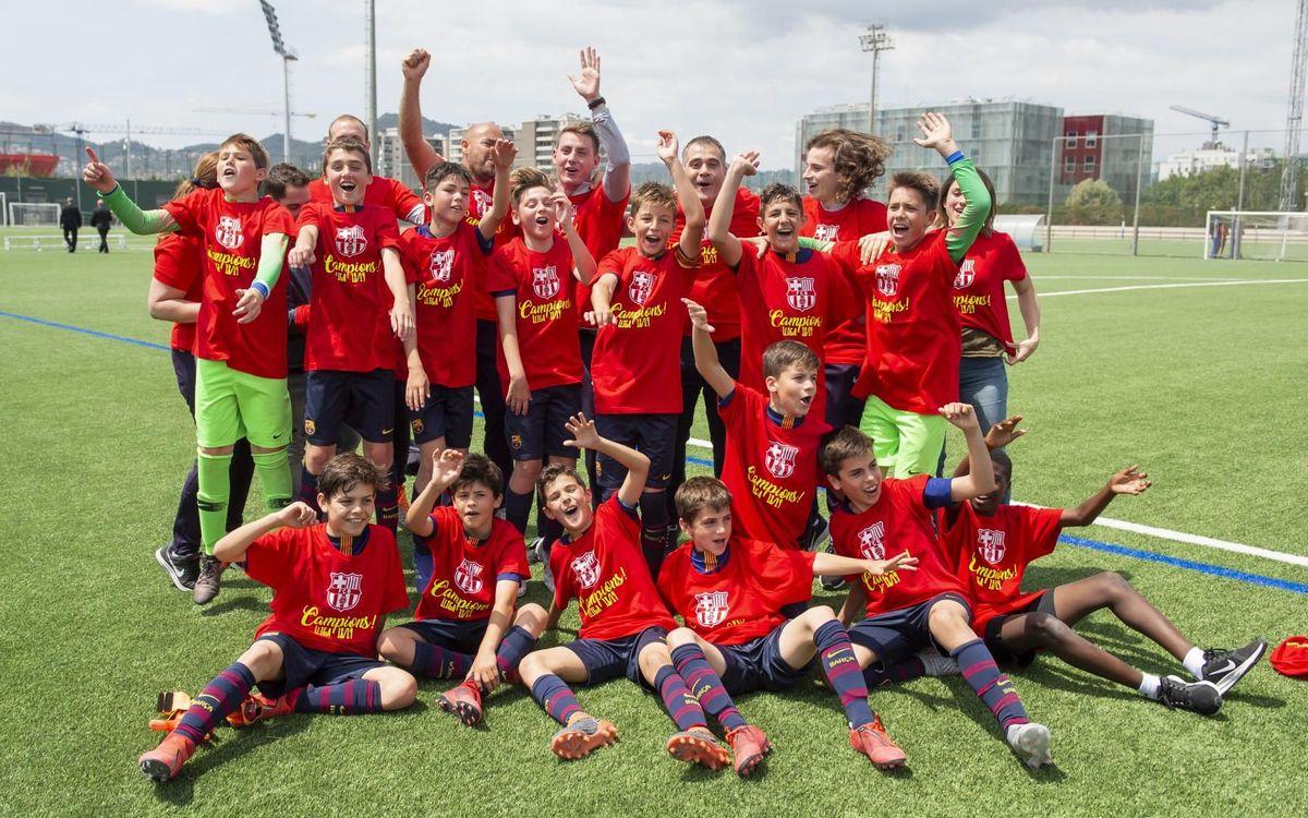 ¡El Alevín B se proclama campeón de Liga!