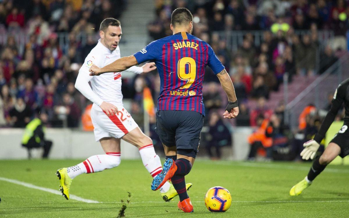 VÍDEO: El Barça-Eibar de la primera volta