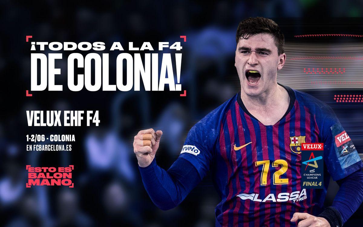 ¡Acompaña al Barça Lassa a Colonia!