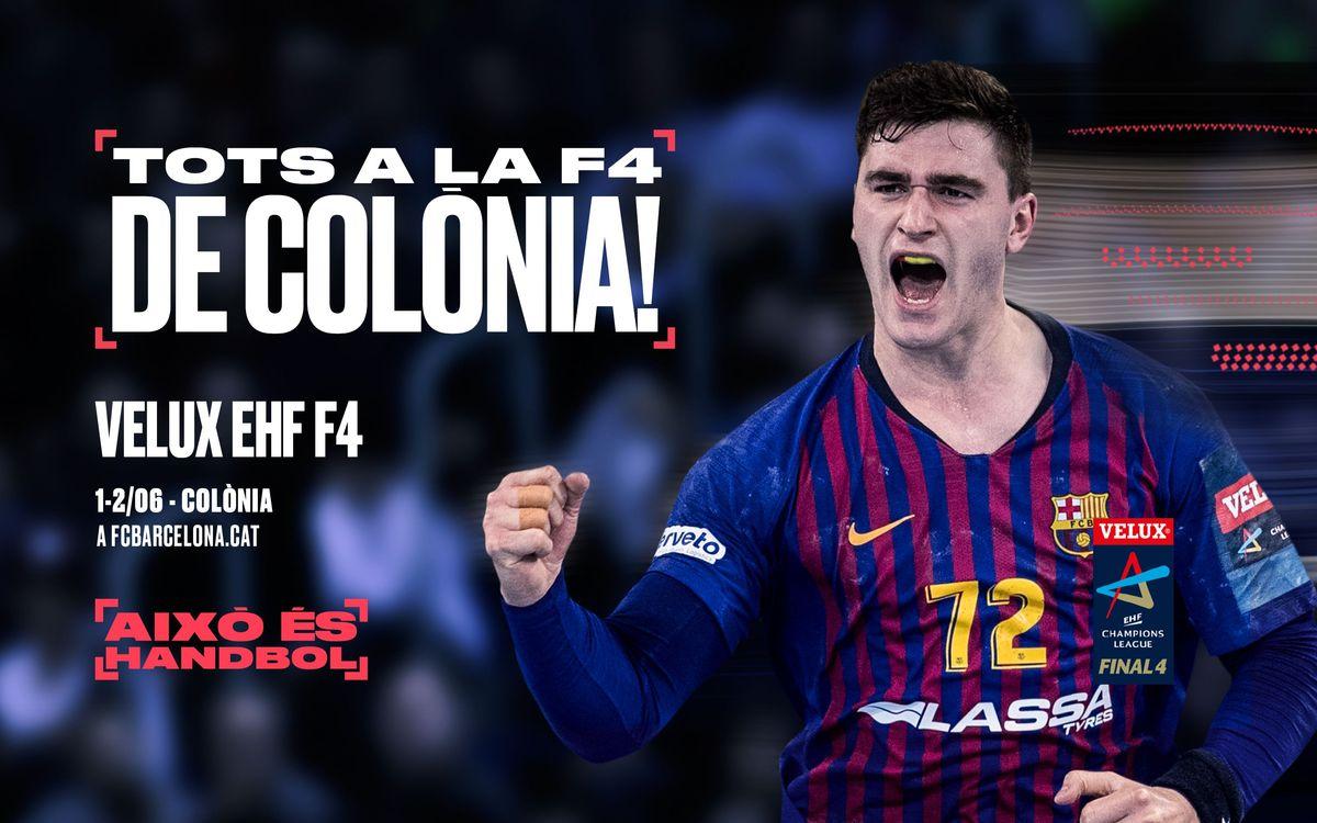 Acompanya el Barça Lassa a Colònia!