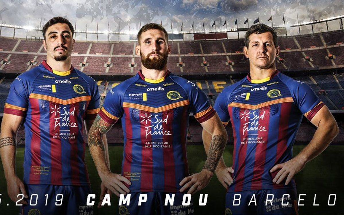 10 choses à savoir avant le match des Dragons Catalans au Camp Nou