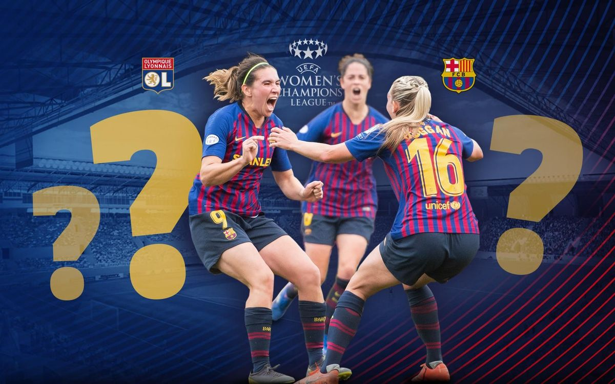 El test de la final de la UEFA Women's Champions League