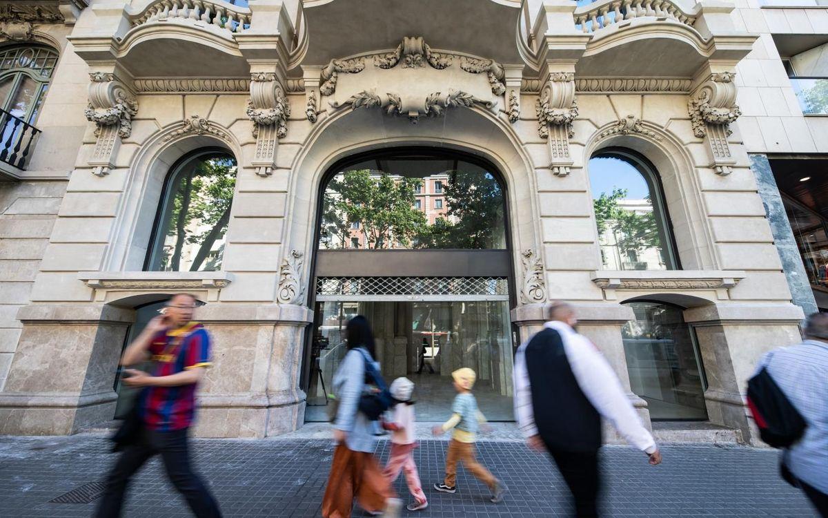 El FC Barcelona obrirà una nova Barça Store a la Rambla