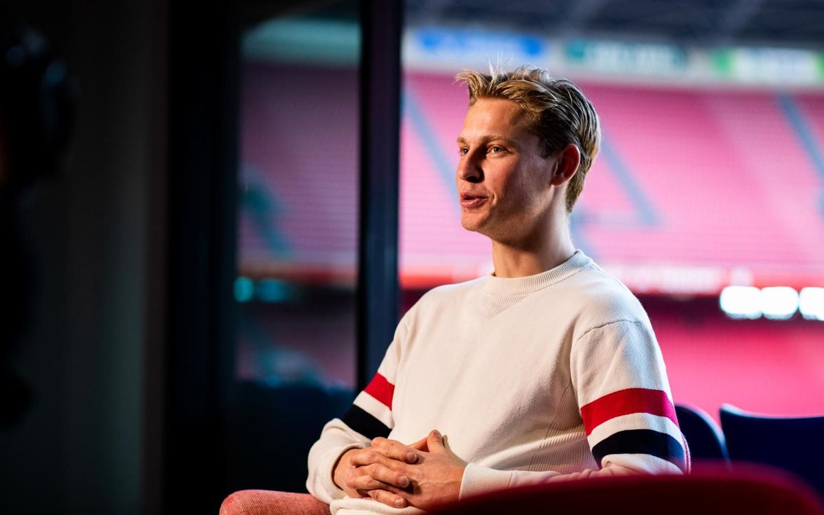 Frenkie De Jong wins Johan Cruyff talent award