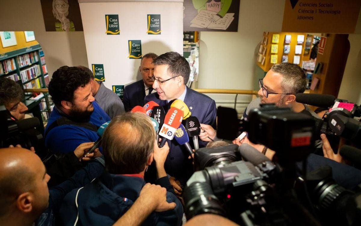 """Bartomeu: """"Valverde és l'entrenador que volem"""""""