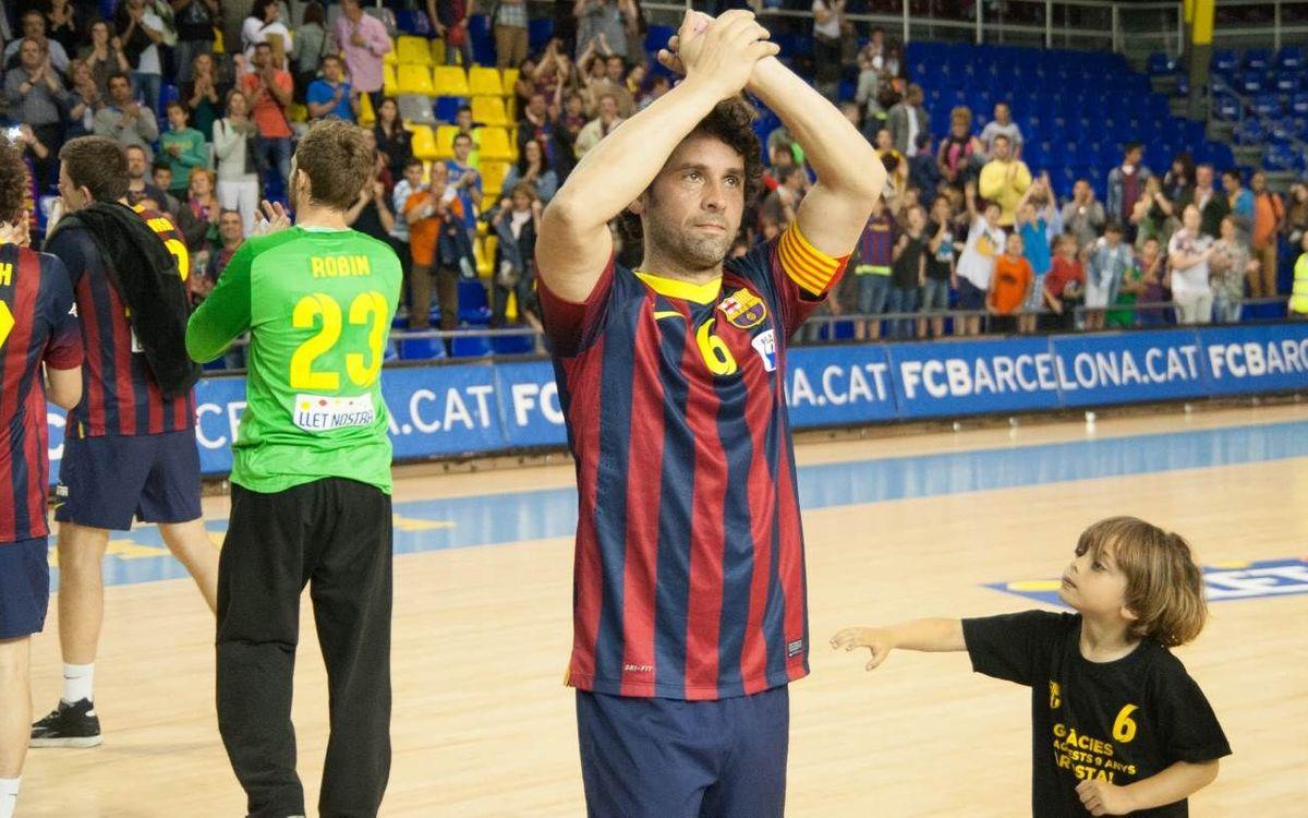 Juanín García anuncia l'adeu a les pistes