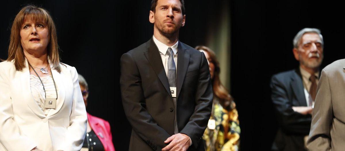 リオネル・メッシ、 'Creu de Sant Jordi'賞受賞