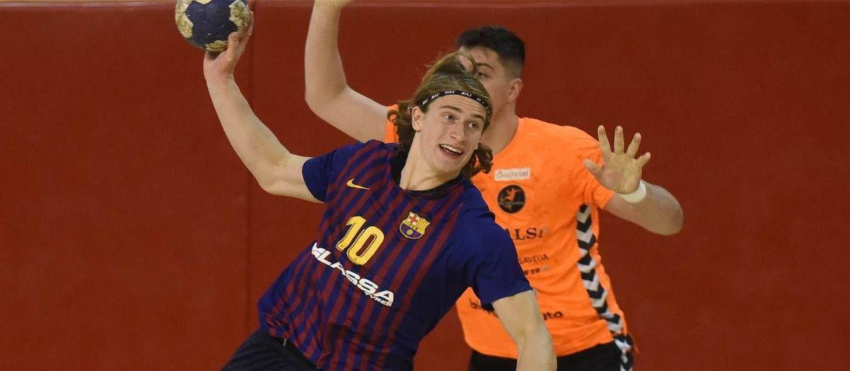 Barça Lassa B - BM Torrelavega: Buen triunfo para cerrar el curso (41-36)