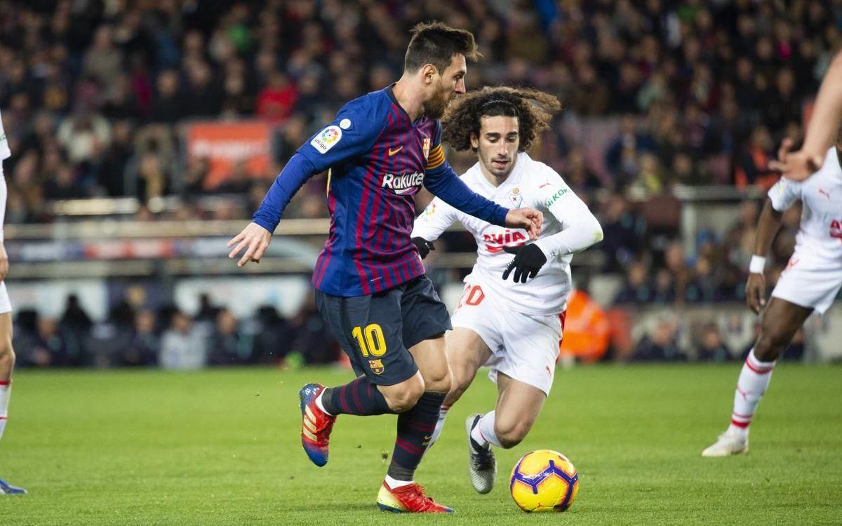Eibar – Barça:  El campió tanca la Lliga amb la Copa a l'horitzó