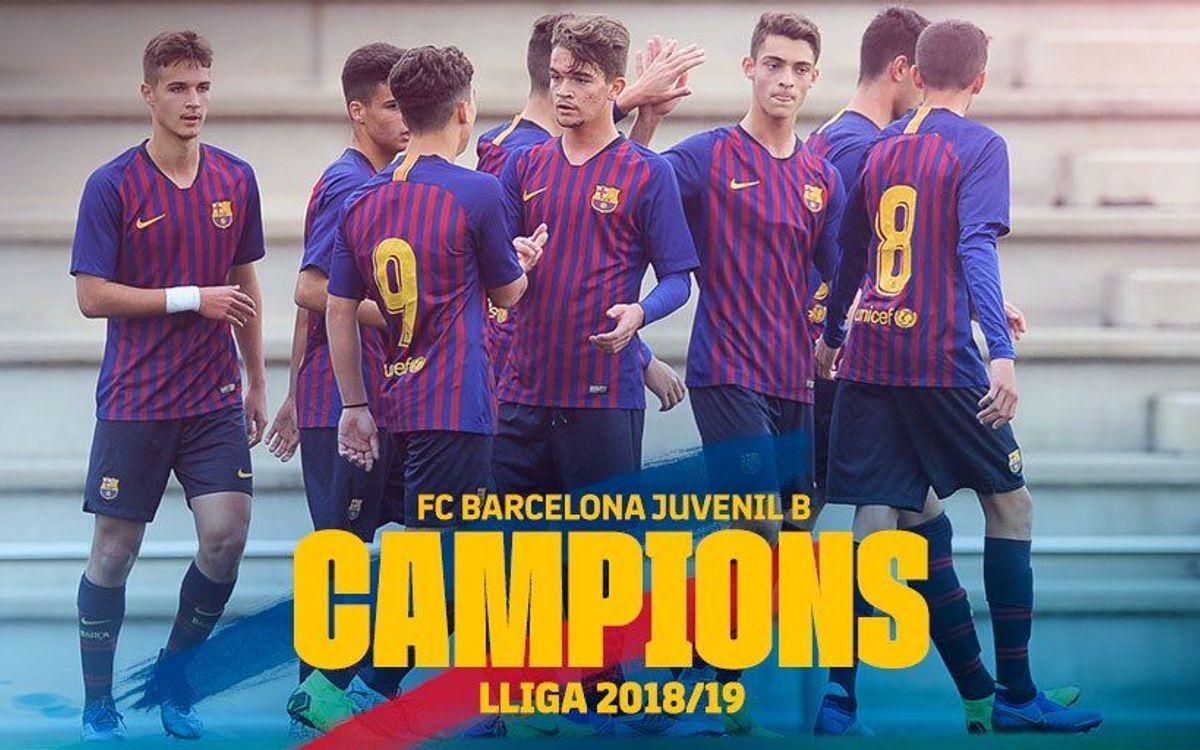 Juvenil B - UE Mollet: Campions de Lliga! (5-1)
