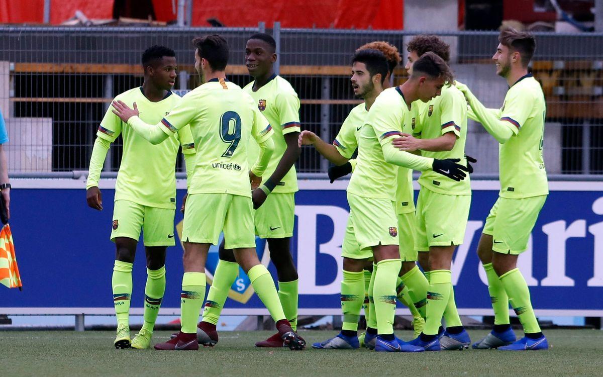 Granada - Juvenil A: Todo por decidir en Barcelona (2-2)
