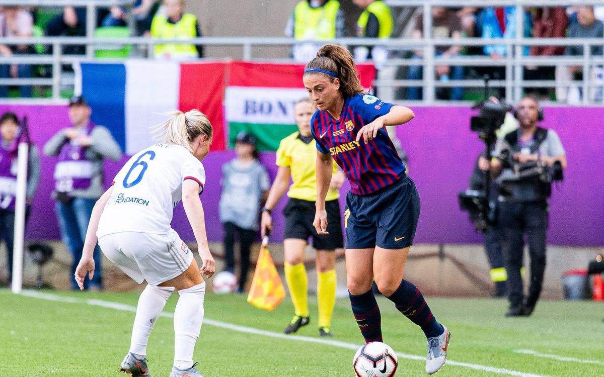 Así hemos vivido la final de la UEFA Women's Champions League