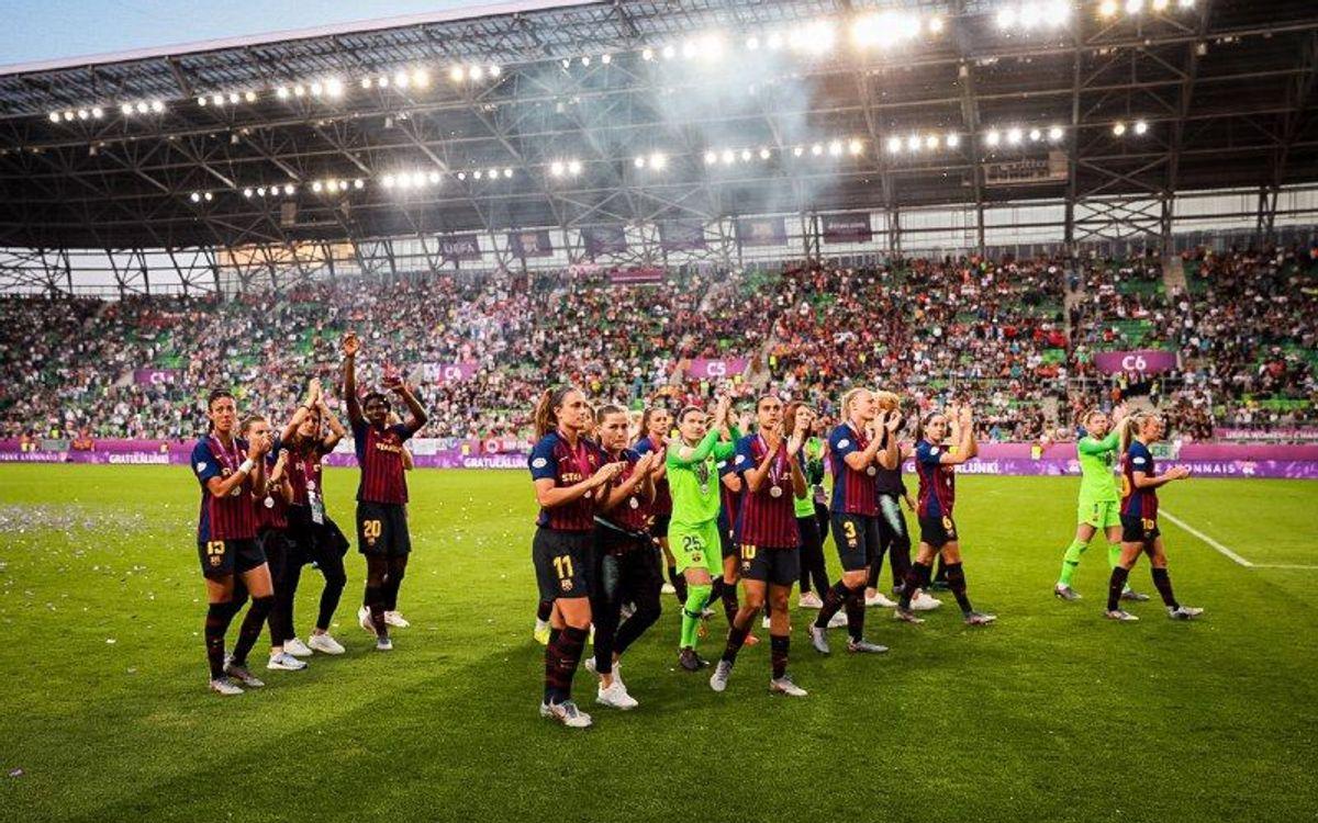 Olympique de Lió – FC Barcelona Femení: Subcampiones d'Europa (4-1)