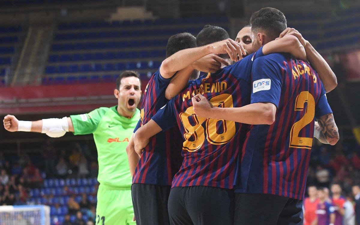 Barça Lassa – Llevant: Amb pas ferm cap a les semifinals (5-1)
