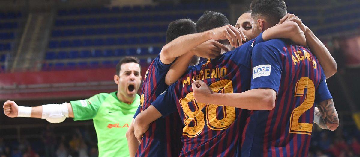 Barça Lassa 5 – 1 Levante: Safely into the semi finals