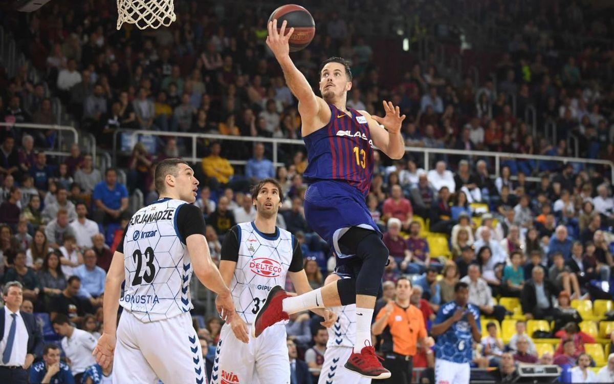 Barça Lassa - Delteco GBC: Triunfo con opciones al liderato (88-71)