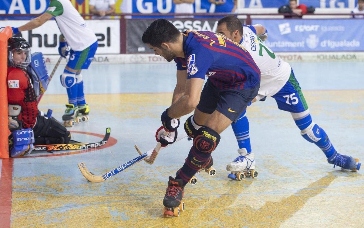 CE Lleida Llista Blava - Barça Lassa: Siguen invictos (4-9)