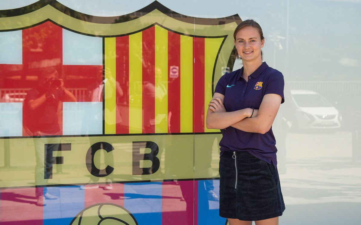 Caroline Graham Hansen reinforces Barça Women's team