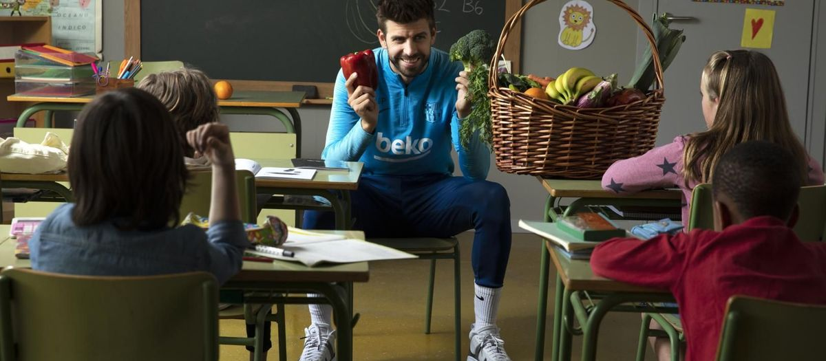 Un 80% dels nens menjaria més saludable si sabés que el seu ídol futbolístic segueix una dieta sana