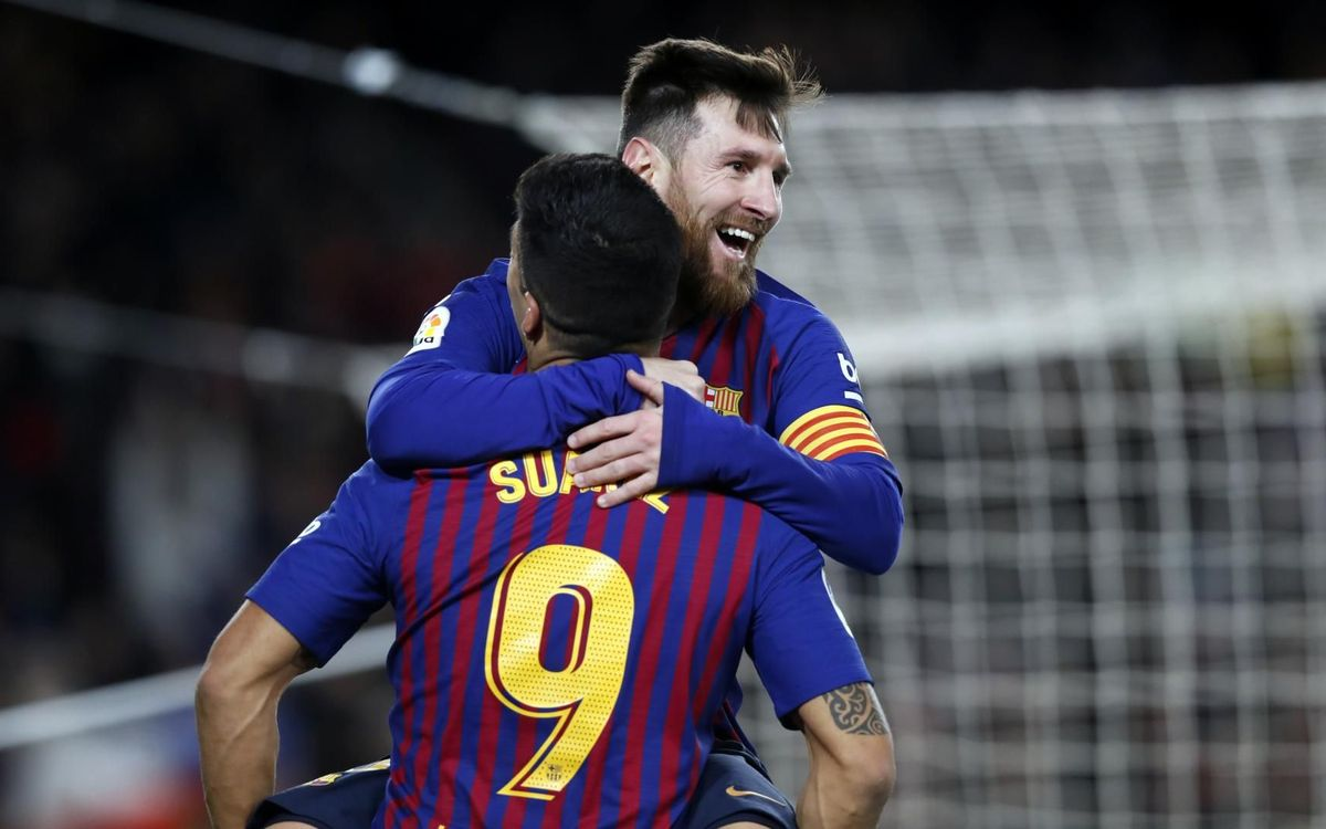 Messi et Suárez : meilleur duo offensif d'Europe