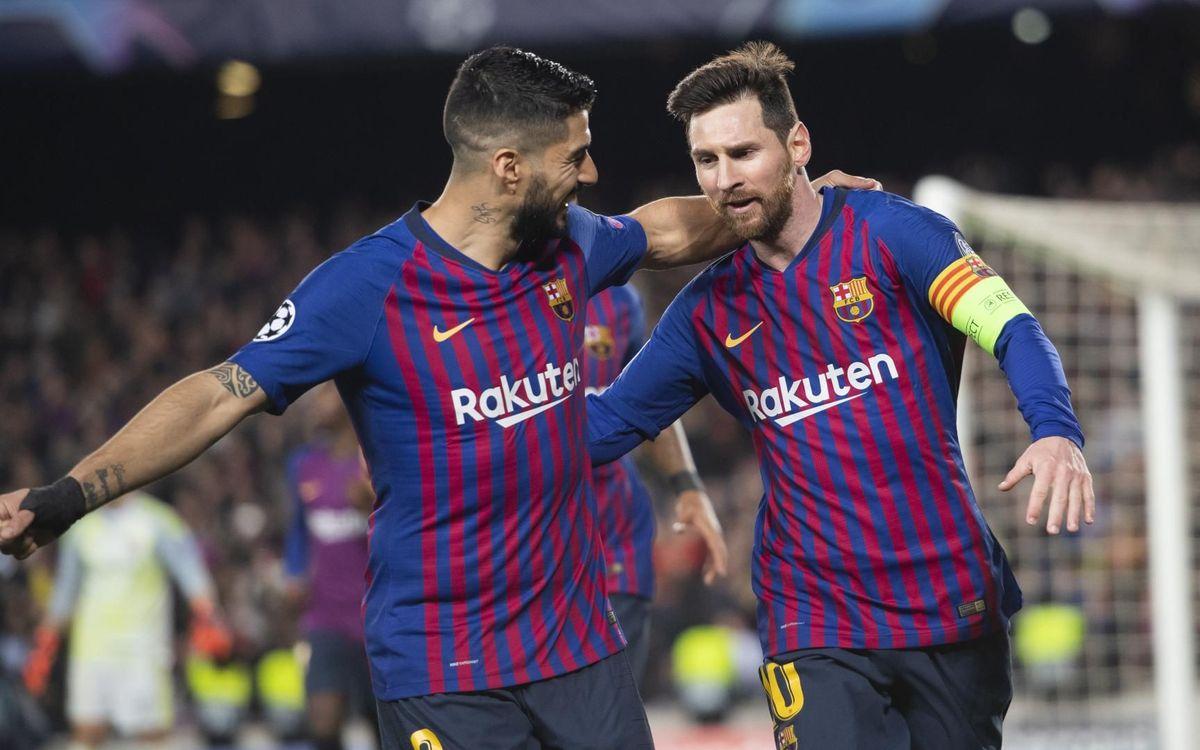 Messi i Suárez, una dupla letal