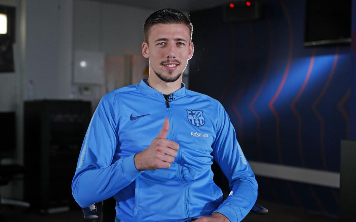 Lenglet back in the final - this time for Barça!