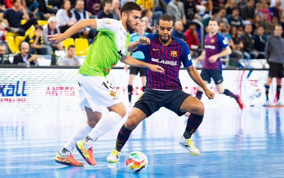 El Palma Futsal ensenya les urpes