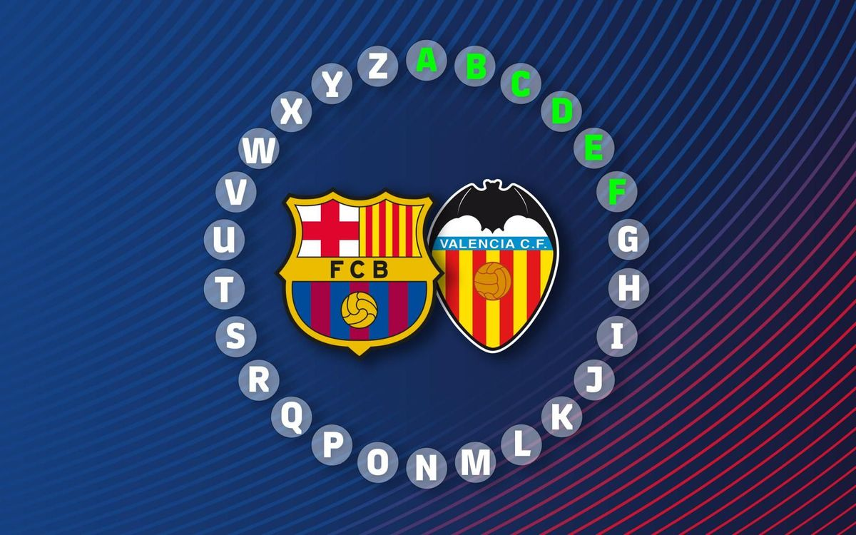 The ABC of Barça v Valencia