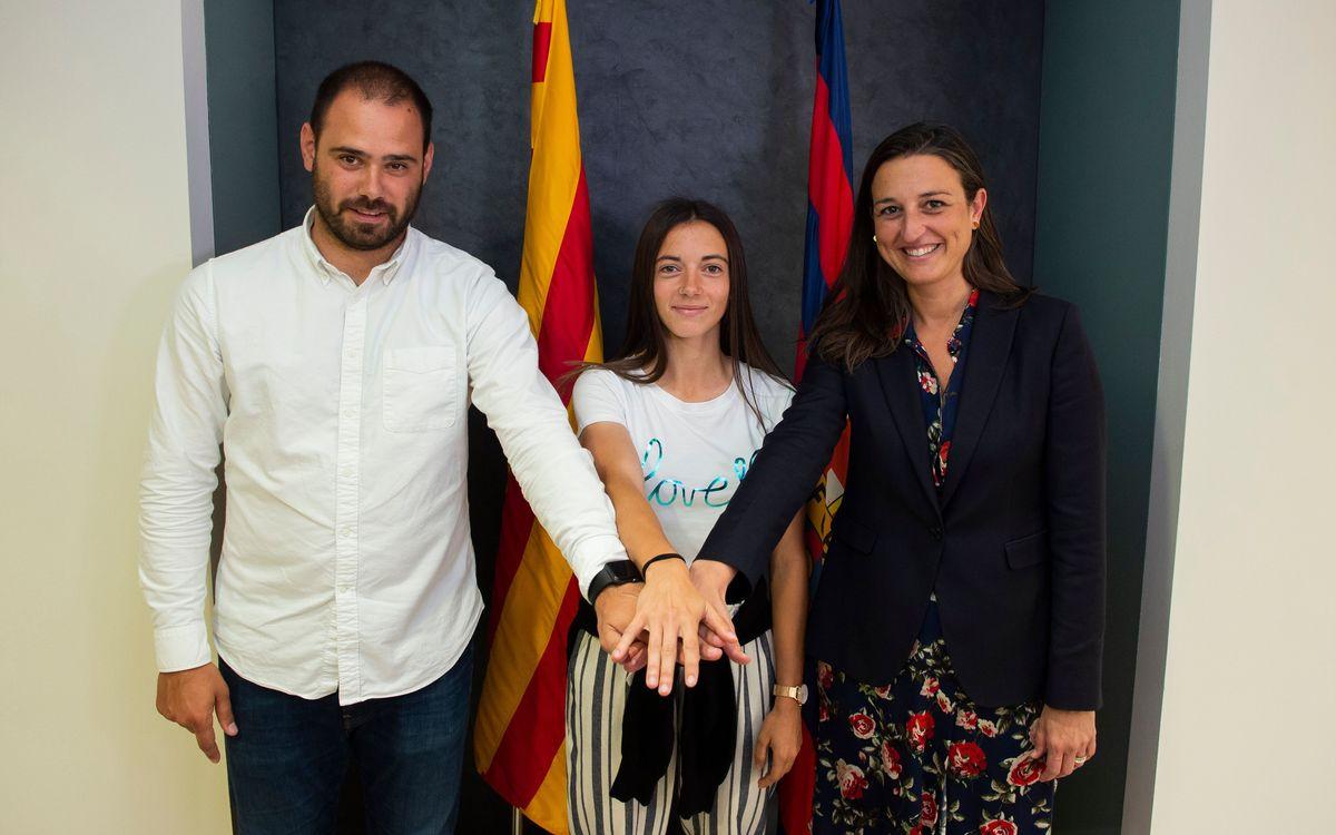 Aitana, Pamela Tajonar y Gemma Font rubrican su continuidad