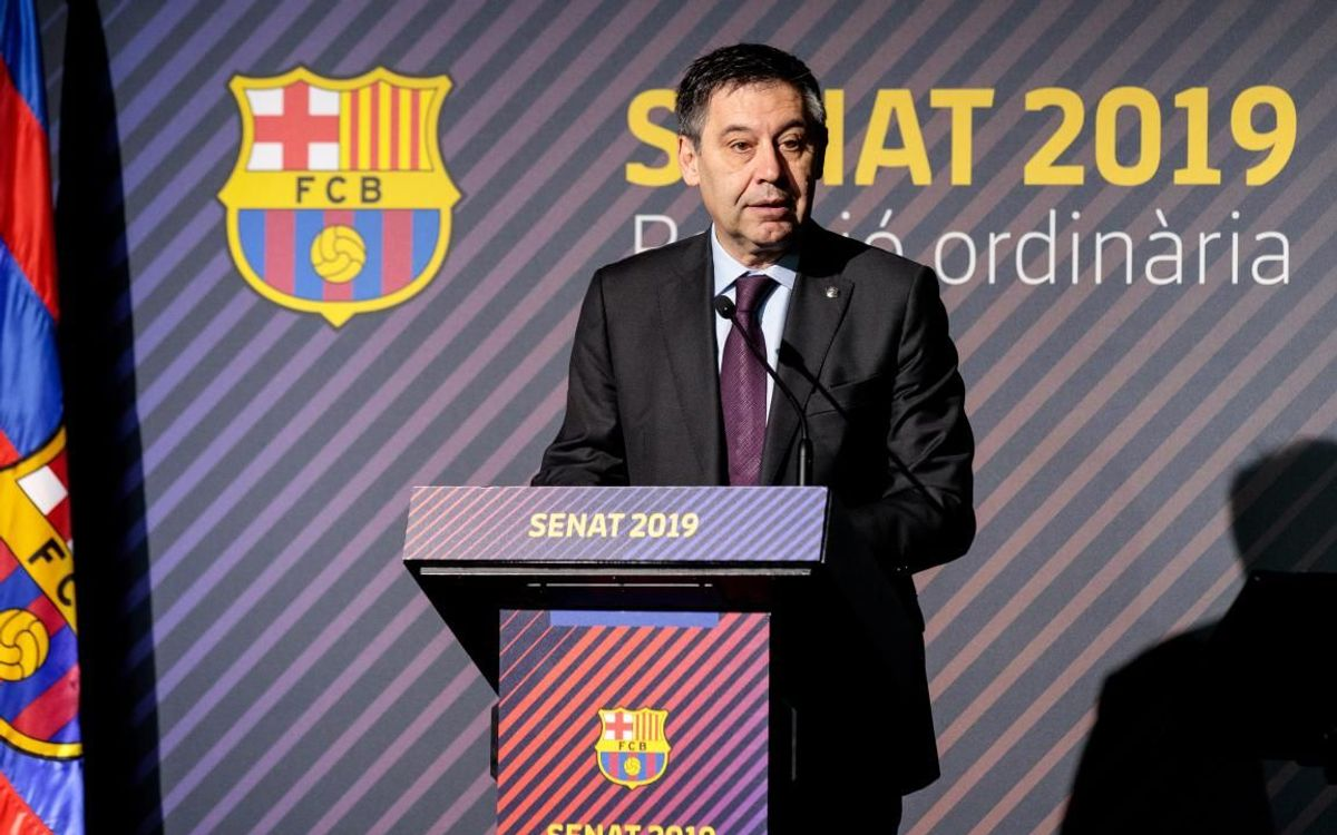 Bartomeu: 'Winning LaLiga has extraordinary merit. We should feel proud of Barça'