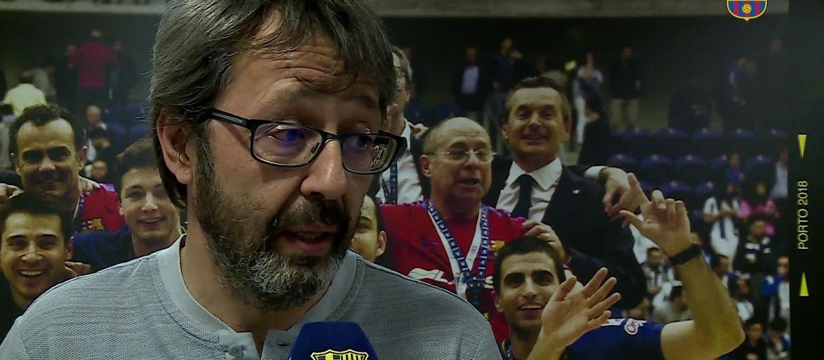 Declaracions prèvia Barça Lassa (hoquei) - Reus Deportivo de Miro OKlliga 2018/2019