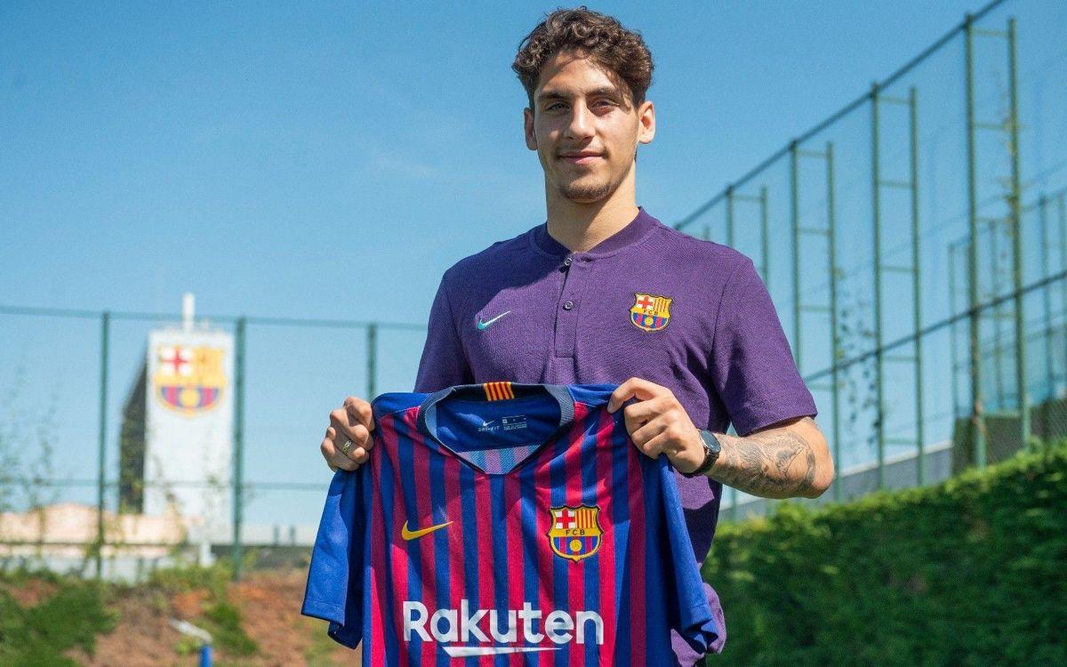 Ludovit Reis se incorpora al Barça