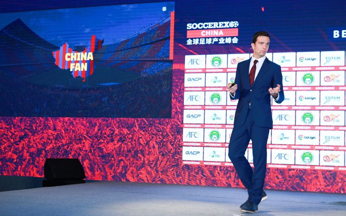 FC Barcelona announce 'Barça Academy China Cup 2019' at Soccerex