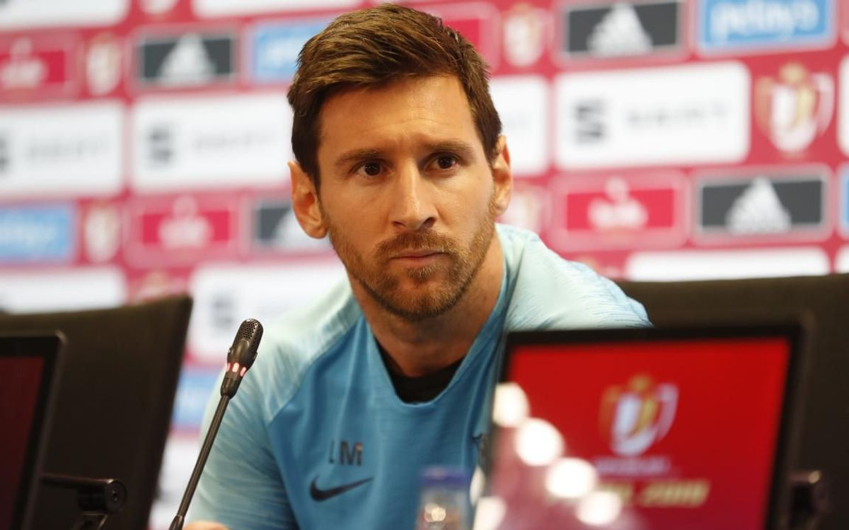 Leo Messi: 'I would like Valverde to continue'