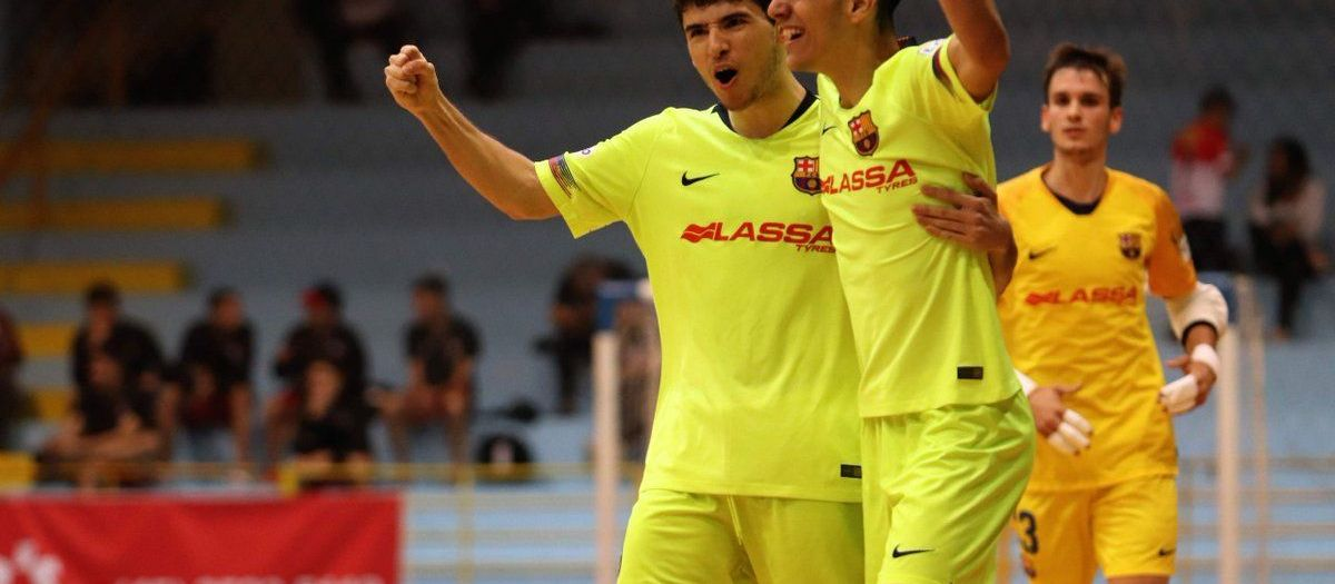 Valoración positiva del Barça Lassa B de fútbol sala