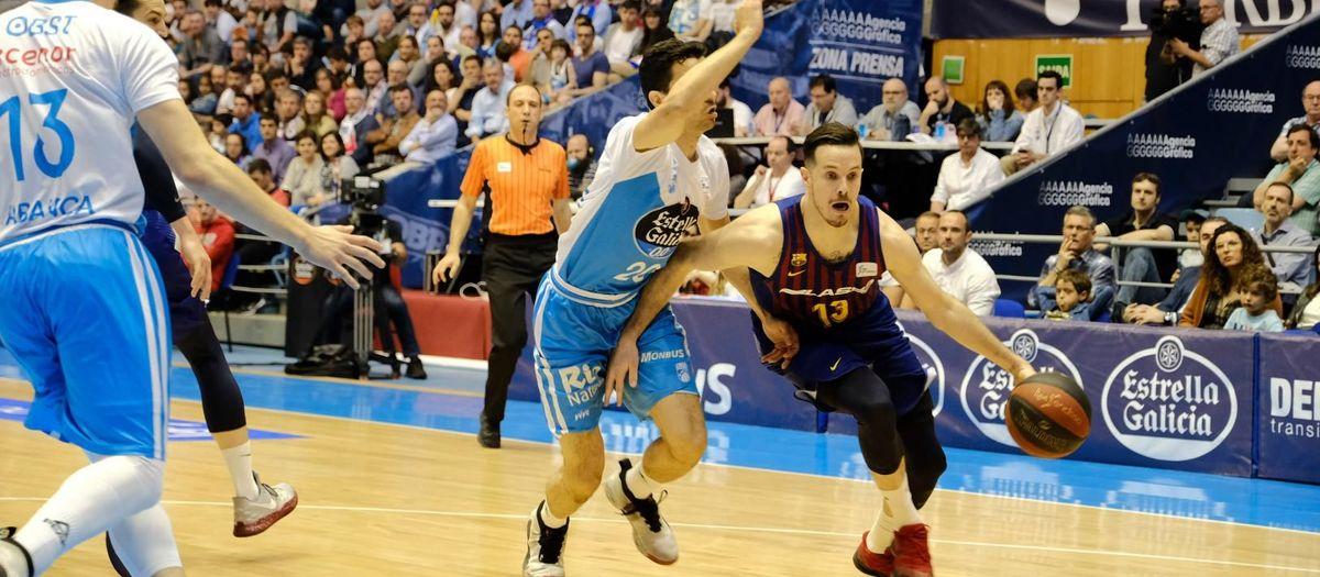 Monbus Obradoiro 63-83 Barça Lassa: A win to close the regular phase