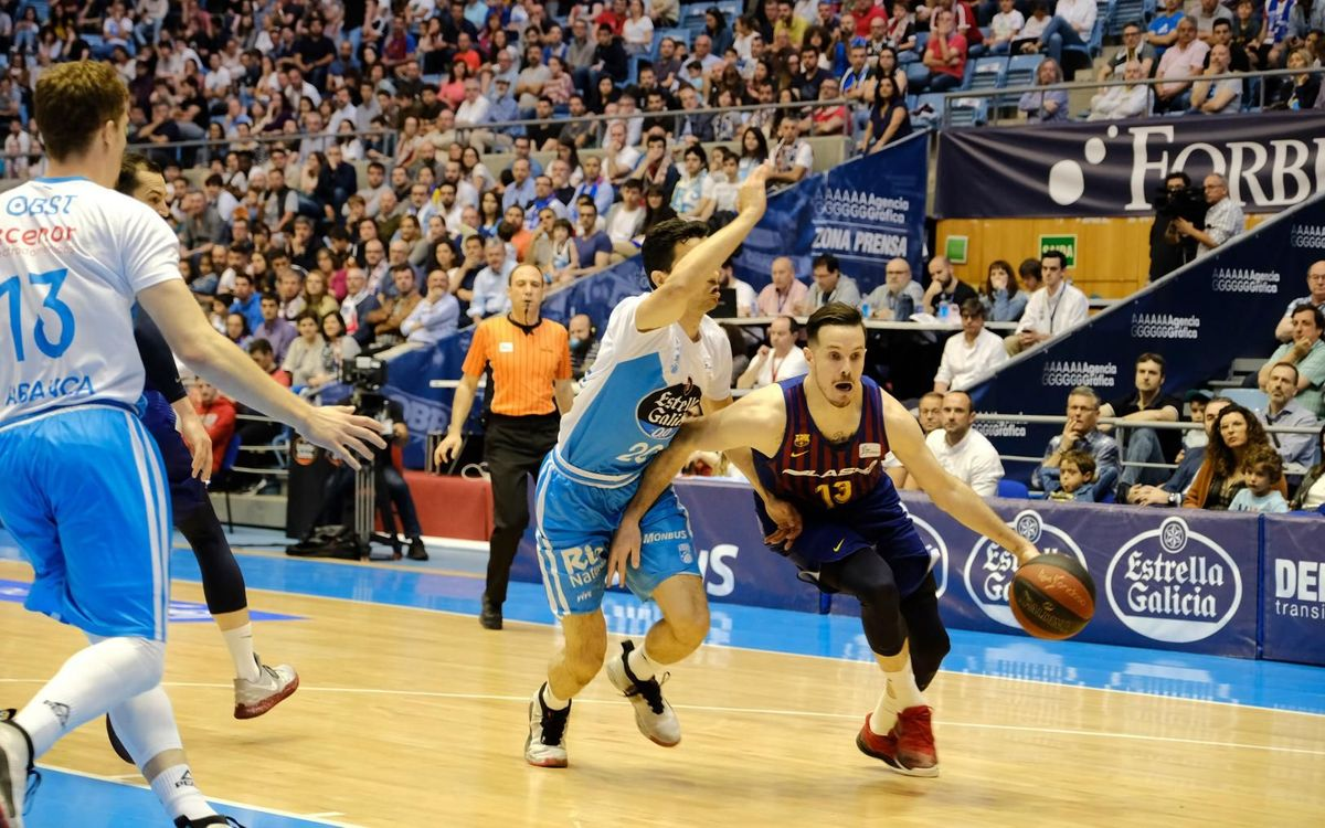 Monbus Obradoiro 63-83 Barça Lassa: A win to close the regular season