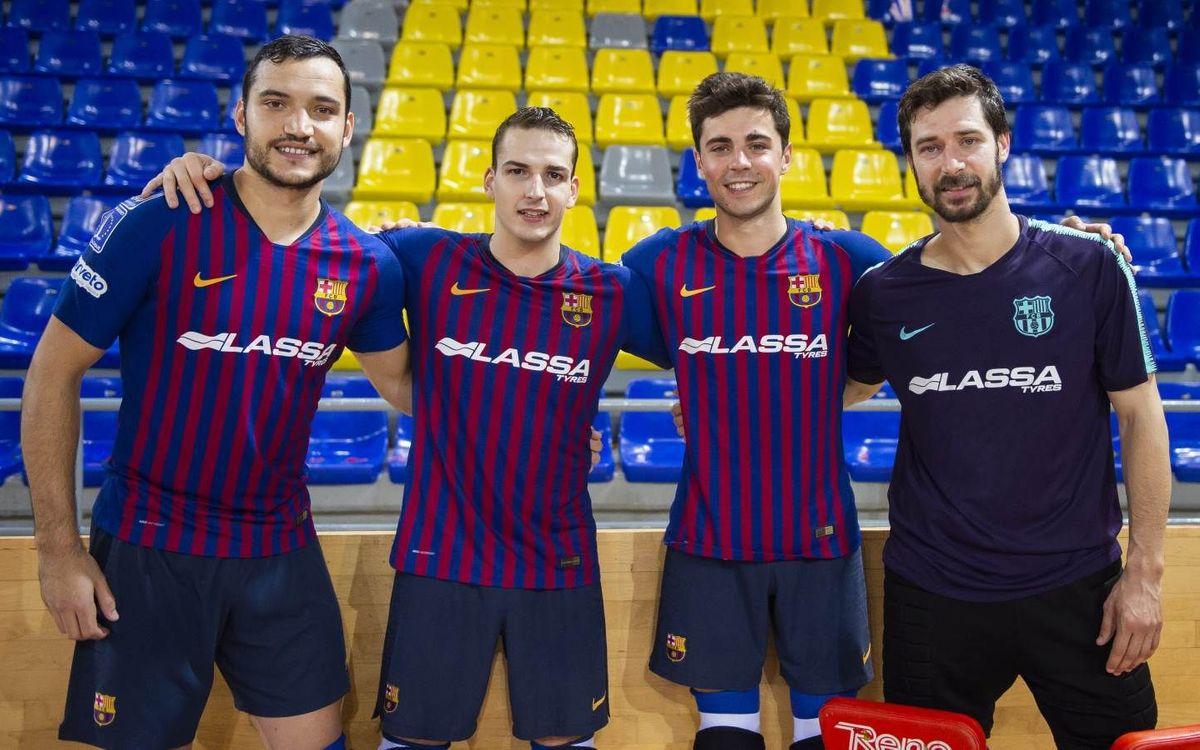 Cuatro jugadores del Barça Lassa jugarán el Mundial con la selección española