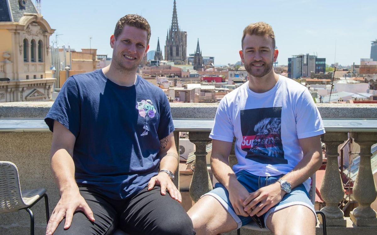 Gonzalo y Möller, dos amigos bajo palos