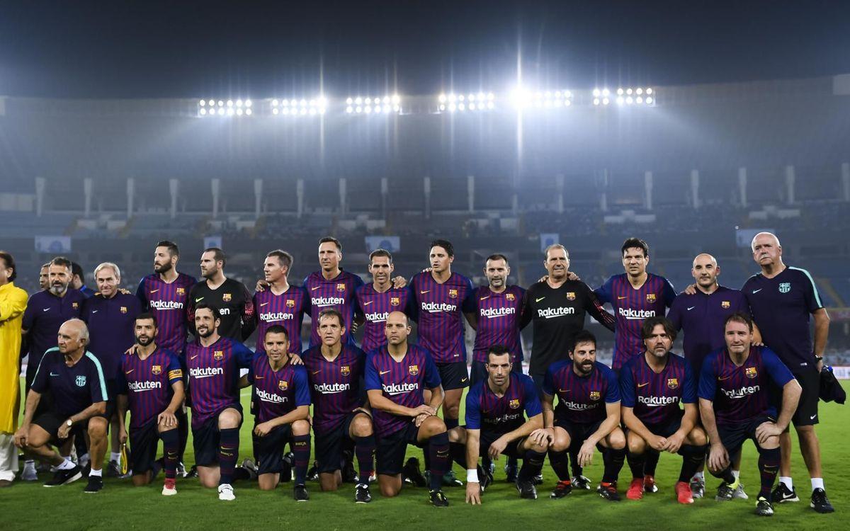 Los Barça Legends jugarán en Marruecos el 9 de junio