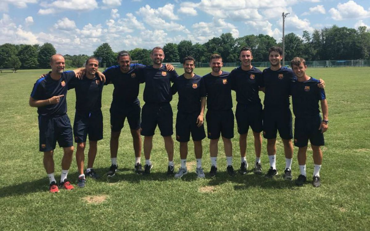 Un verano con oportunidades laborales en Estados Unidos para los exjugadores del Barça