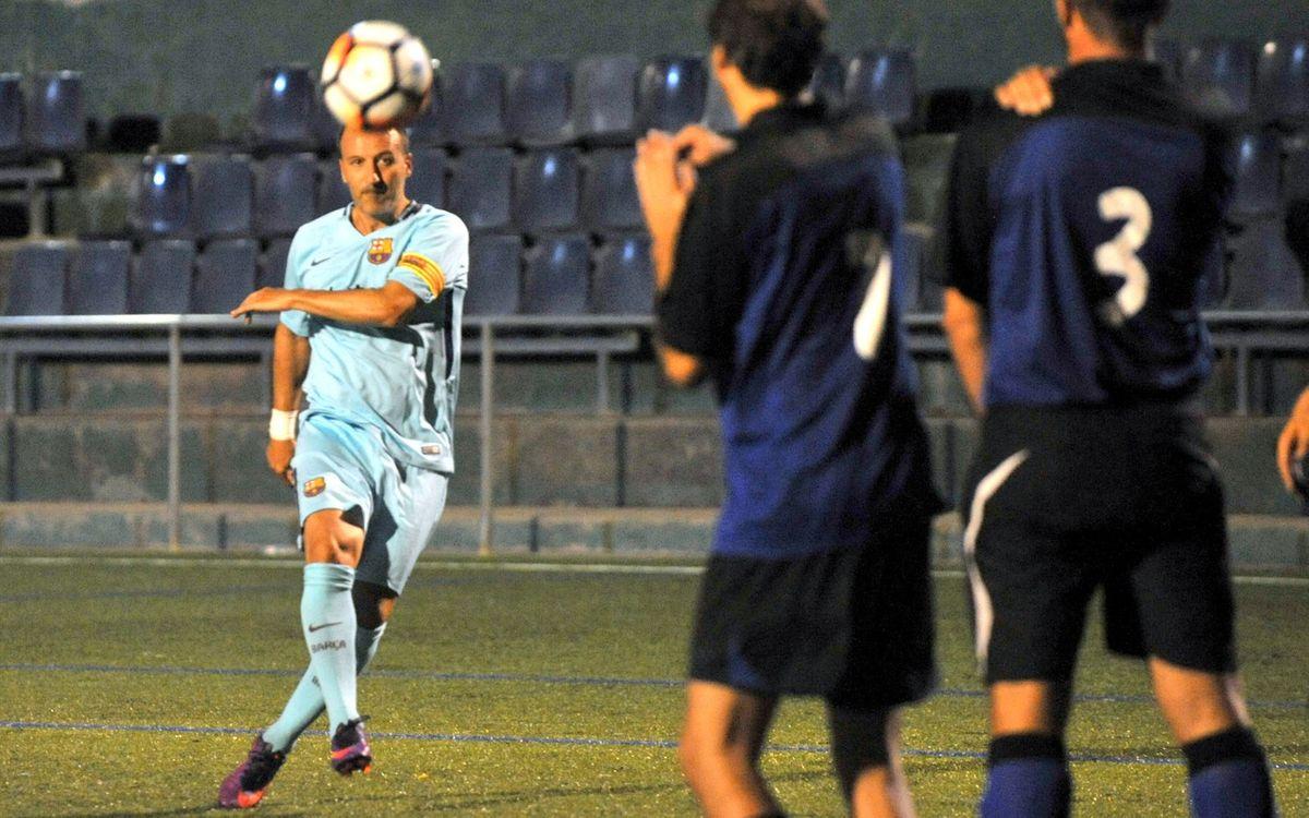 Amistoso en Sant Cugat para inaugurar el nuevo césped del campo del Junior CF