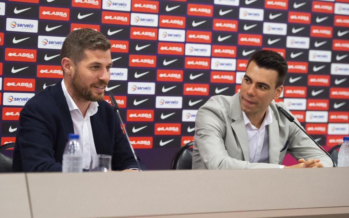 Sergio Lozano, asesor de la Barça Escola Futsal
