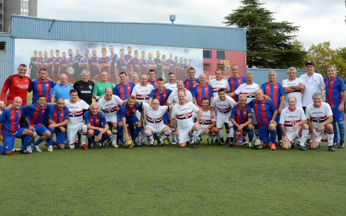El ABJ juega un amistoso con los veteranos del Sao Paulo