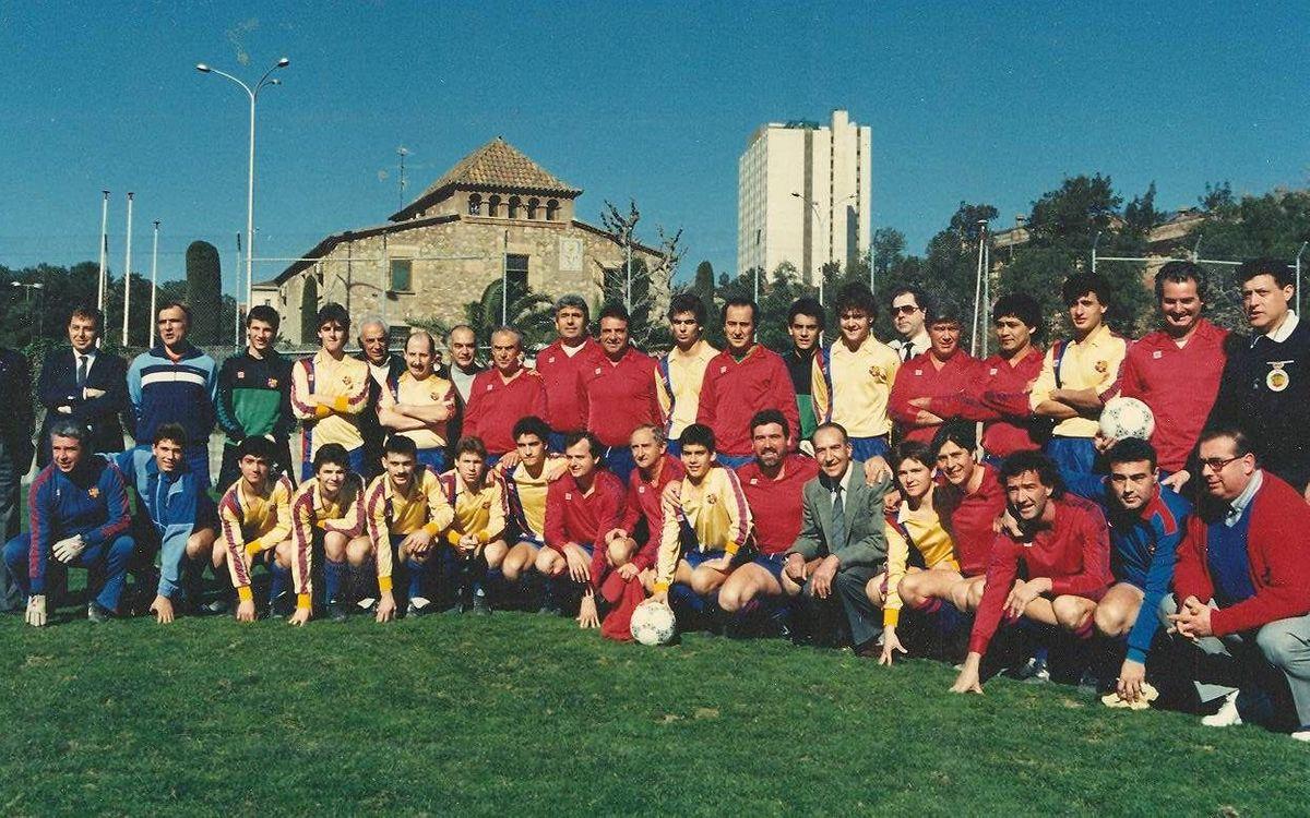 60 años de cooperación, fútbol y valores azulgrana