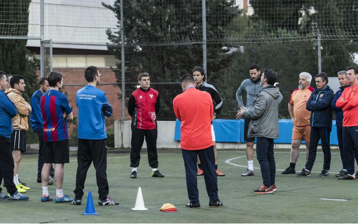 Dos exfutbolistes blaugranes poden optar a una beca esportiva amb el CD Alavés